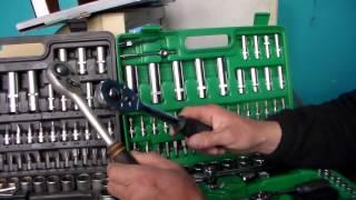видео Набор инструментов для ремонта и обслуживания автомобиля