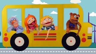 Песенки для детей - Мурашки - Автобус мультик про машинки