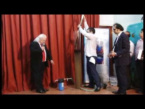 Graphene : Prof Petrik Demonstration of Graphene HRCM technology at NEERI Nagpur