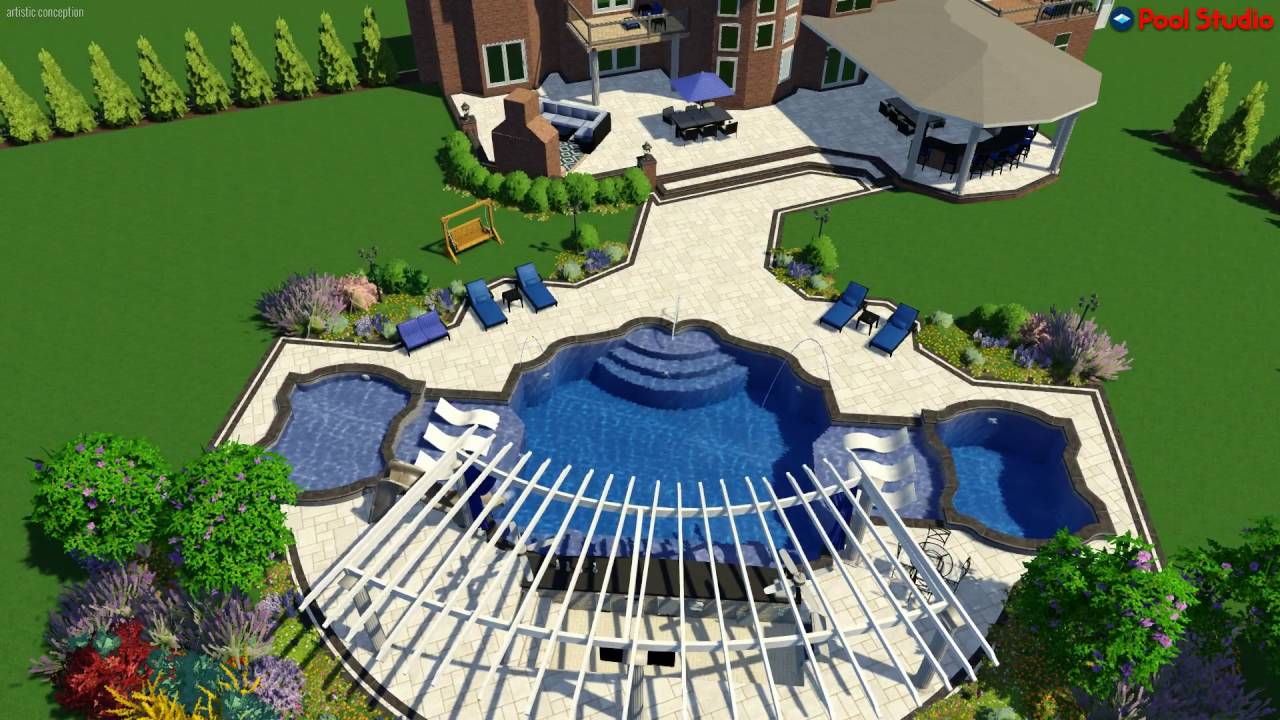 chris wiedman backyardmasters 3d design - YouTube