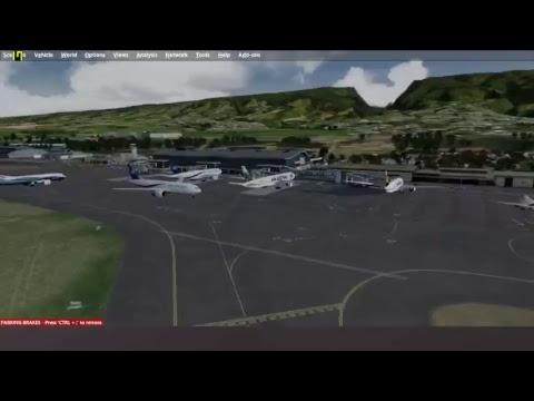[P3D v3.4] Air austral 787-8 F-OLRB Mayotte-Réunion departure
