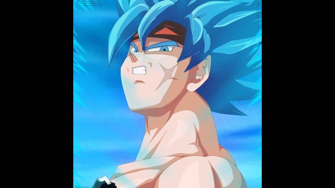 Ssgss Ball Golden Vs Dragon Goku Frieza