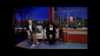 Kevin Spacey imita Al Pacino davanti ad Al Pacino - Letterman [SUB ITA]