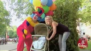 Stroller Flies Away Prank