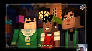 Minecraft story mode part4