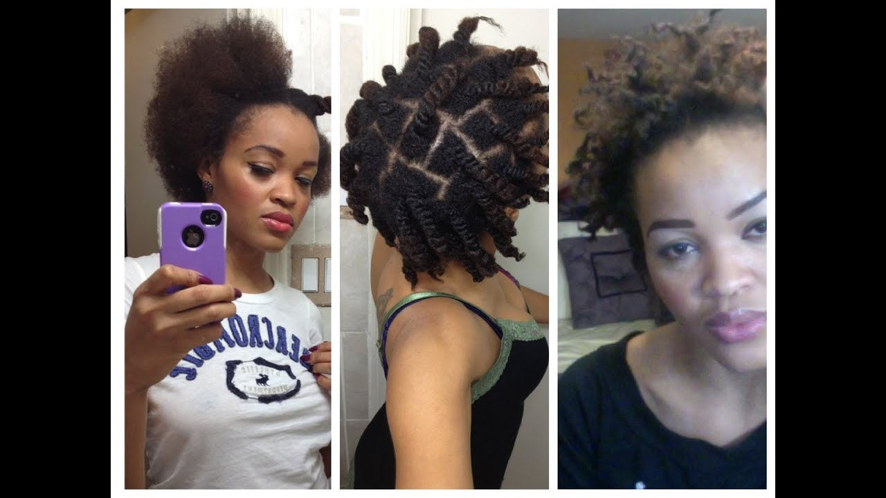 natural hair twist