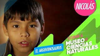 Zamba - Nicolás acerca de: el Argentinosaurus