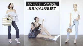 July & August | What I Wore