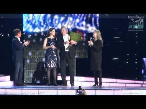 14.Ален Делон на Armenia Мusic Awards 2012.Москва,7 апреля 2012