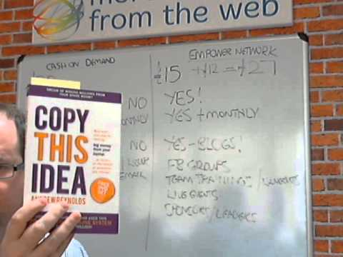 Andrew Reynolds Copy This Idea Cash on Demand Course Review