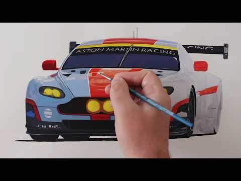 realistic-car-drawing---aston-martin