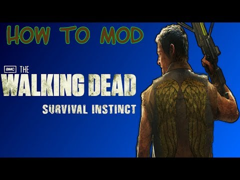 How To Mod The Walking Dead:Survival Instinct | XBOX360 | HD | USB |