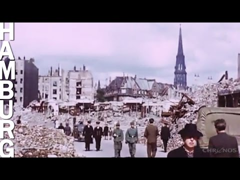 Hamburg 1945 in Farbe