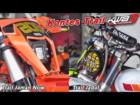 Kontes Trail, Ninja 2 Tak Rasa KTM Vs Yamaha Scorpio Tampang Jadul di KWB Super Adventure 3 2018