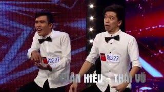 Vietnam's Got Talent 2016 - Nút vàng GK Trấn Thành xuất hiện cùng với hot boy Juun Đăng Dũng
