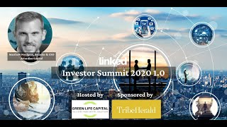 """The climate of investing in the cannabis industry"""" at Linked Ventures Investor Summit"""