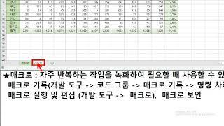 MOS Excel 2일차 2020 06 02 (2020…