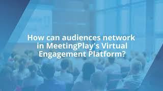 MeetingPlay Virtual Platform Demo