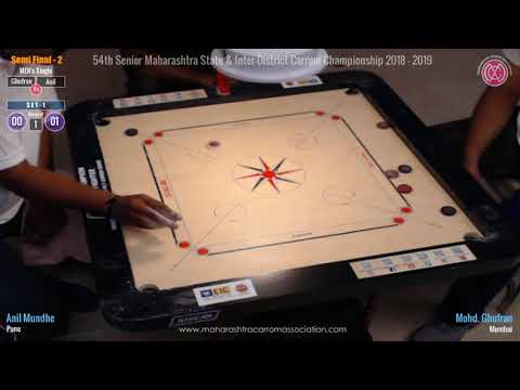 SF-2 (Men Singles): Mohd. Ghufran (Mumbai) Vs Anil Mundhe (Pune) from YouTube · Duration:  1 hour 29 minutes 21 seconds