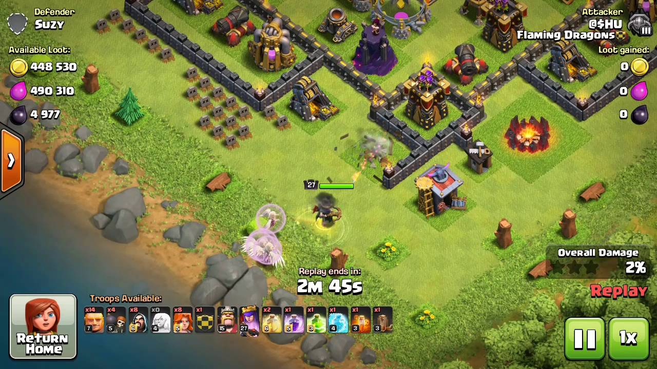 TH9 and TH10 Farming Strategy in Clash of Clans Updated (100 Million