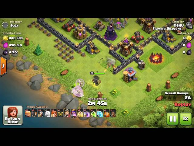 TH9 and TH10 Farming Strategy in Clash of Clans Updated (100