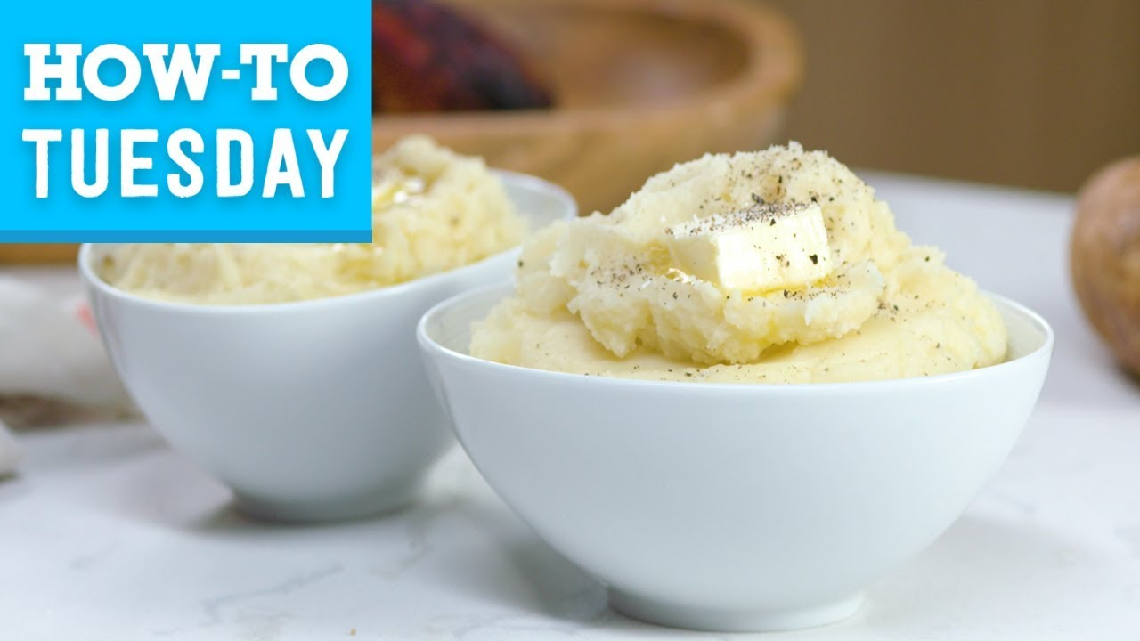 How to Make Perfect Mashed Potatoes | Food Network - YouTube