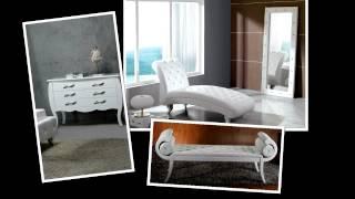 Modern Leatherette Platform Bed With Crystals | (866) 397-0933 Lafurniturestore.com