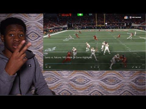 FALCONS DEFENSE SAVES THE DAY!!! Saints vs. Falcons   NFL Week 14 Game Highlights