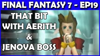 Let's Play Final Fantasy 7 PS4 Walkthrough - THAT Aeris Moment & End of Disk 1 - Part 19