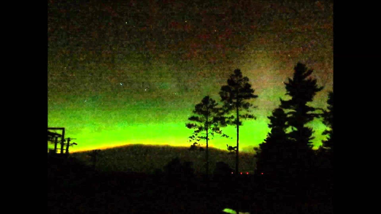 Northern Lights Aurora Borealis In