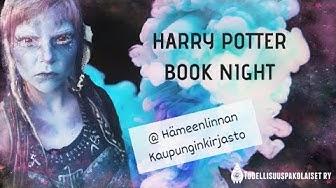 Noituutta kirjastossa! // Harry Potter Book Night Hämeenlinna