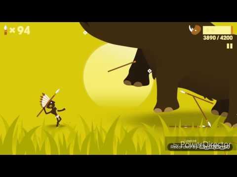 Big hunter level 100|THE WOOLLY RHINO END|enjoy