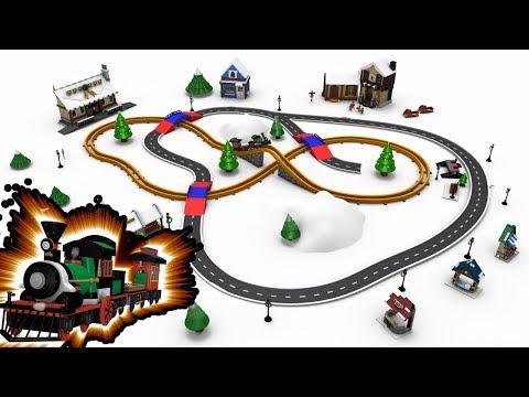 Chu Chu Train - Christmas Train - Toy Factory Train - Train Cartoon - Train Videos - Train for kids