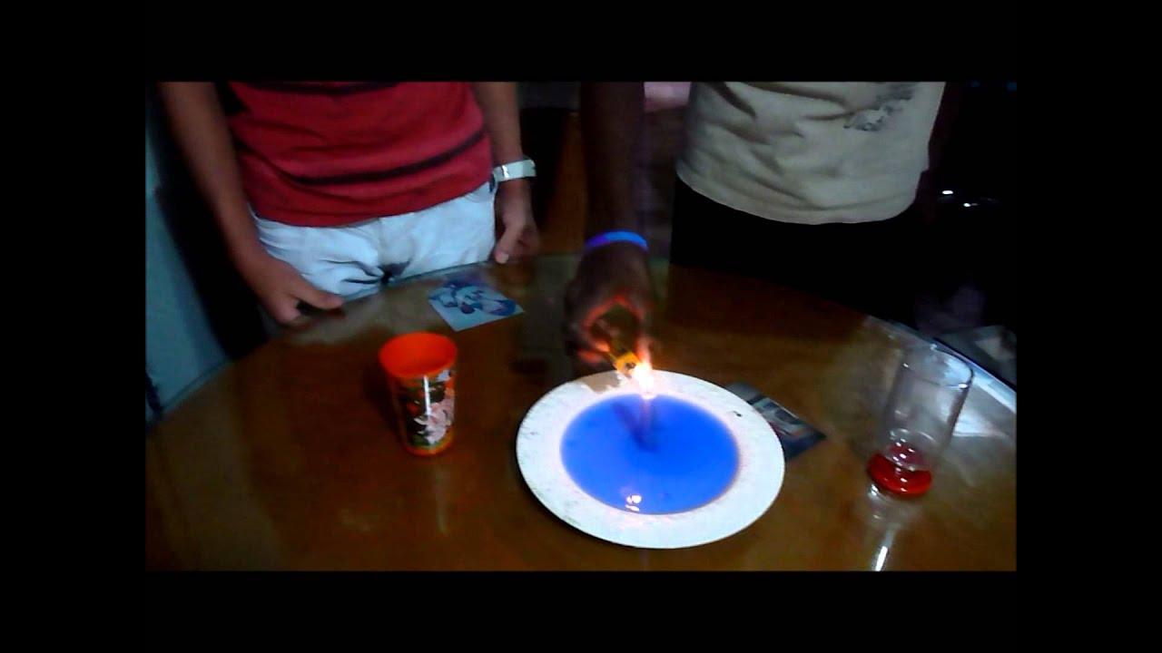 experimento casero de termodinamica - YouTube