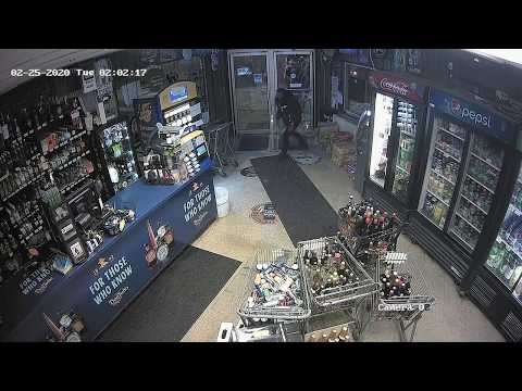 ATM theft from Leo's Liquors, Brookfield, Feb. 25, 2020 (Part 2)