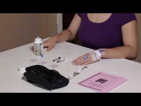 Intravenous antibiotic treatment at home  35  YouTube