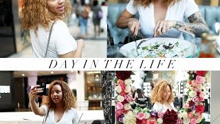 A DAY IN THE LIFE | Eating, Shopping & Haulin' | Ad