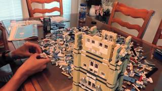 Lego Tower Bridge(10214)speed/timelapse Build