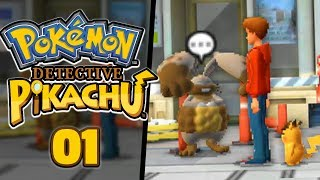 Pokemon: Detective Pikachu Playthough / Gameplay