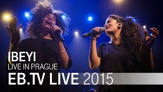 IBEYI live in Prague (2015)