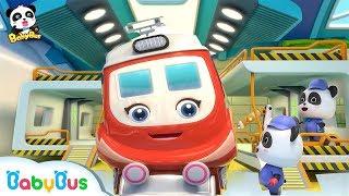 *NEW*슈퍼 기차구조대 다쳤어요| 꼬마 정비사키키묘묘 고쳐줘요|베이비버스 인기동요 모음|BabyBus