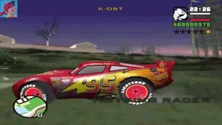 Çizgi Film Konuşan Tom ve Şimşek Mcqueen Talkin Tom and Disncey Cars