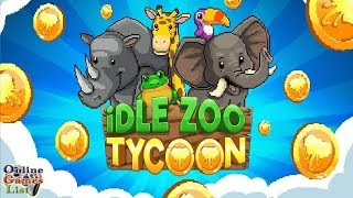 popular videos idle tap zoo tap build upgrade a custom zoo