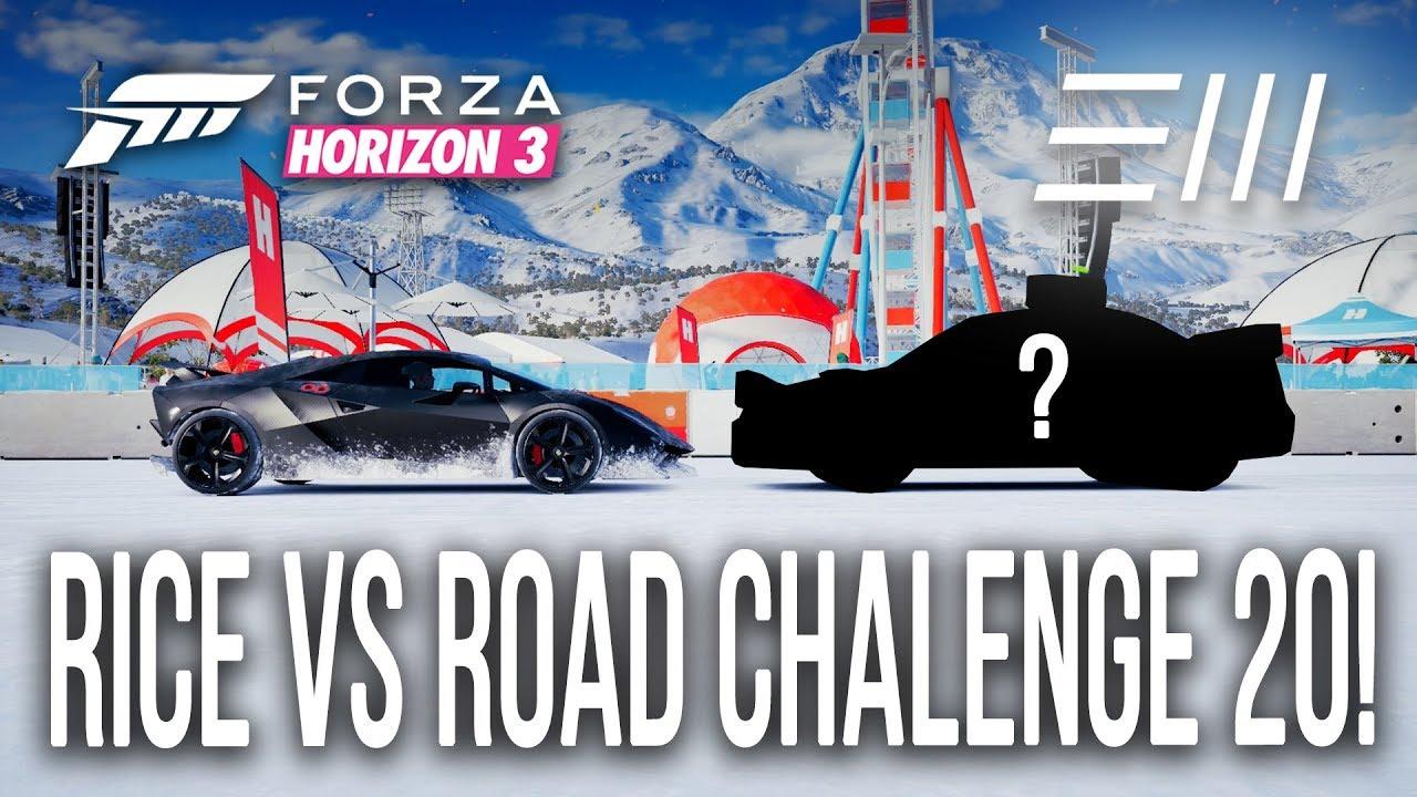Forza Horizon 3 Lamborghini Sesto Elemento Vs Rice Vs Road
