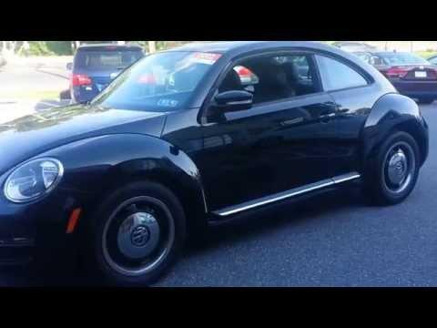 CERTIFIED 2012 VOLKSWAGEN BEETLE 2.5L PZEV or Sale at Ciocca Volkswagen in Allentown, PA