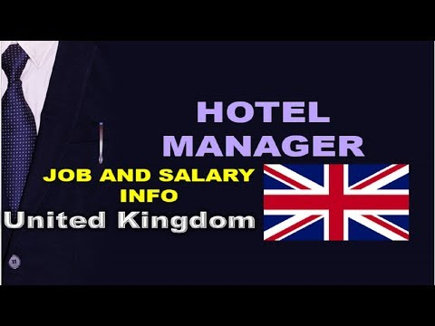 Hotel Manager Salary In The UK - Jobs And Wages In The United Kingdom