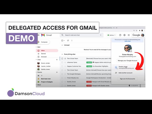 Learn How to Setup Delegated Access in Gmail?