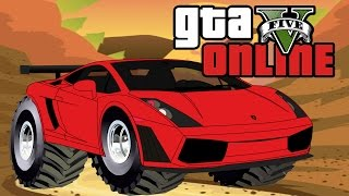 GTA 5 Online ★ OFF ROAD LAMBORGHINI (Dumb & Dumber)