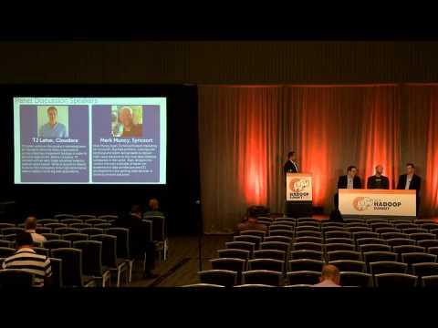 Optimizing your Hadoop infrastructure  An industry panel presentation