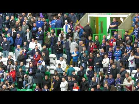 "Celtic 5 - Rangers 0 - Subway Loyal ""Mass"" Exodus After 5th Goal -  29 .04.18"